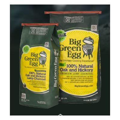 Carbone Big Green Egg di quercia e noce Kg 4,5