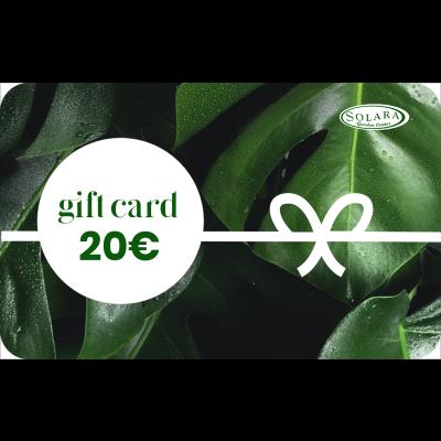Gift Card da 20 € a consumo