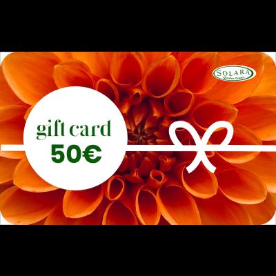 Gift Card da 50 € a consumo
