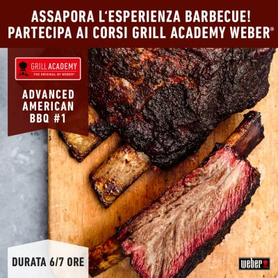 Corso AVANZATO Ufficiale Weber ADVANCE AMERICAN BBQ 1 del 11 Settembre 2021 ore 09,30