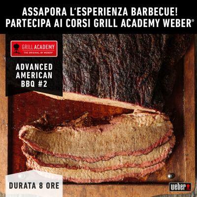 Corso AVANZATO Ufficiale Weber ADVANCE AMERICAN BBQ 2 del 25 Settembre 2021 ore 09,30